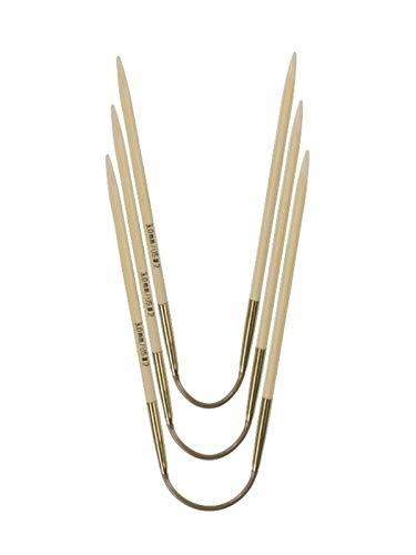 ADDI Crasy Trio Rundstricknadel 24 cm Stärke 2,5 mm, Bambus